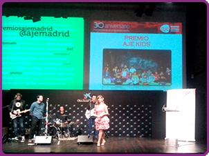 Premios AJE Madrid 2014 en Caixaforum