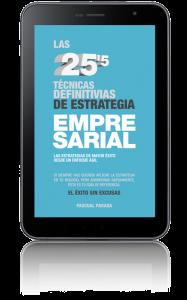 ebook: Las 25'5 ténicas defiinitivas de estrategia empresarial