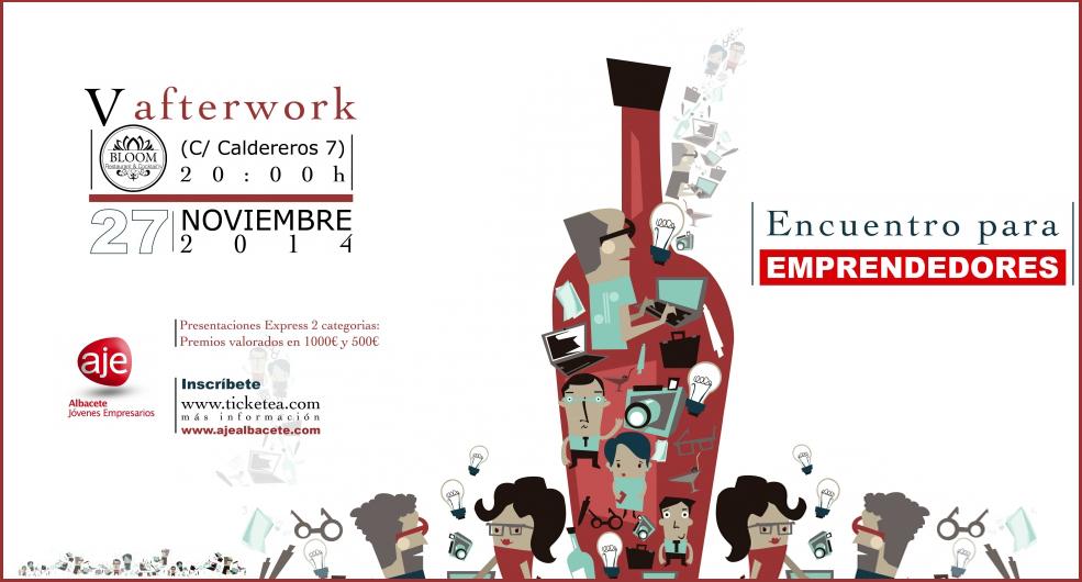 Afterwork para emprendedores y empresarios de AJE AB