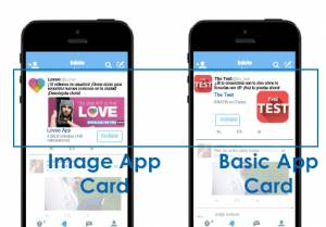 Promocionar Apps desde Twitter