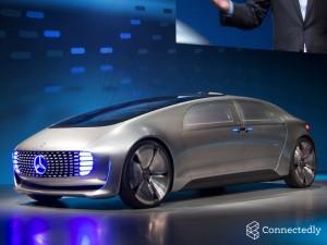 Vehículo conectado de Mercedes CES 2015