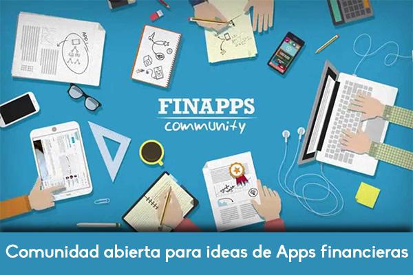 Finapps, una comunidad abierta para el desarrollo de apps financieras
