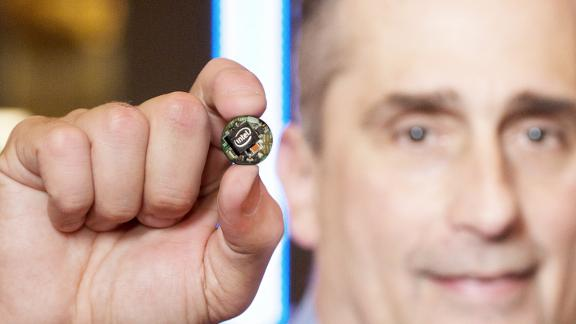 Chip Curie de Intel del tamaño de un botón para el Internet of Things