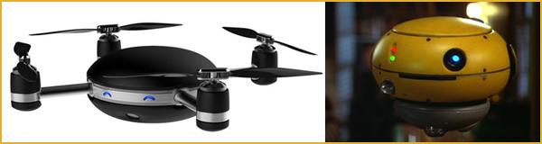 Flubber vs dron Lily