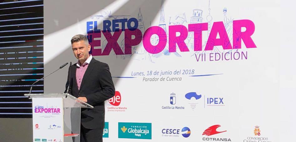 """Amenizando """"El reto de Exportar 2018"""", evento de AJE CLM"""