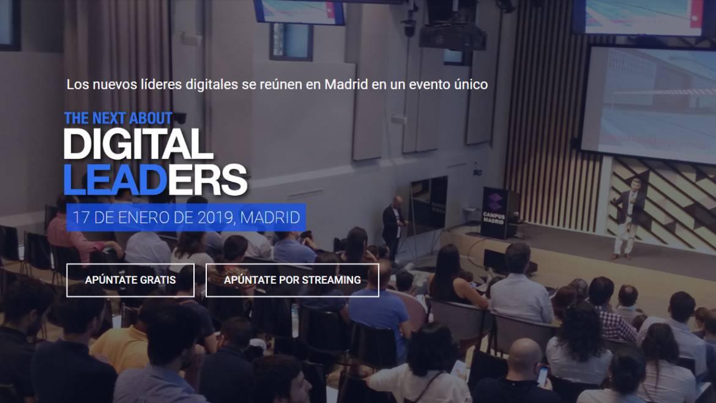The Next About Digital Leaders: el evento de referencia para líderes digitales que apuestan por el cambio