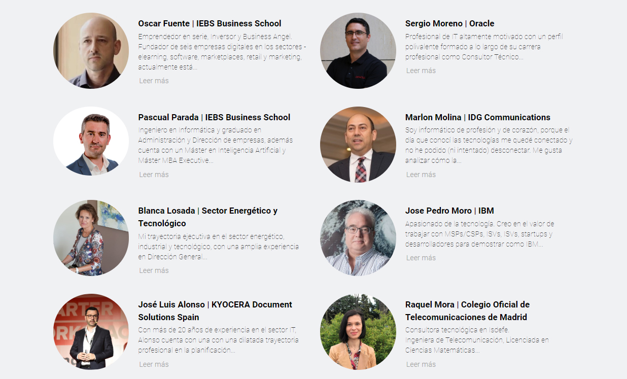 Digital Leaders Ponentes